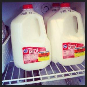 Clearance Milk
