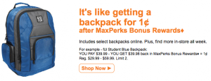 office max backpack