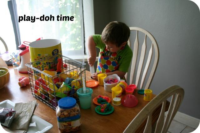 playdoh time