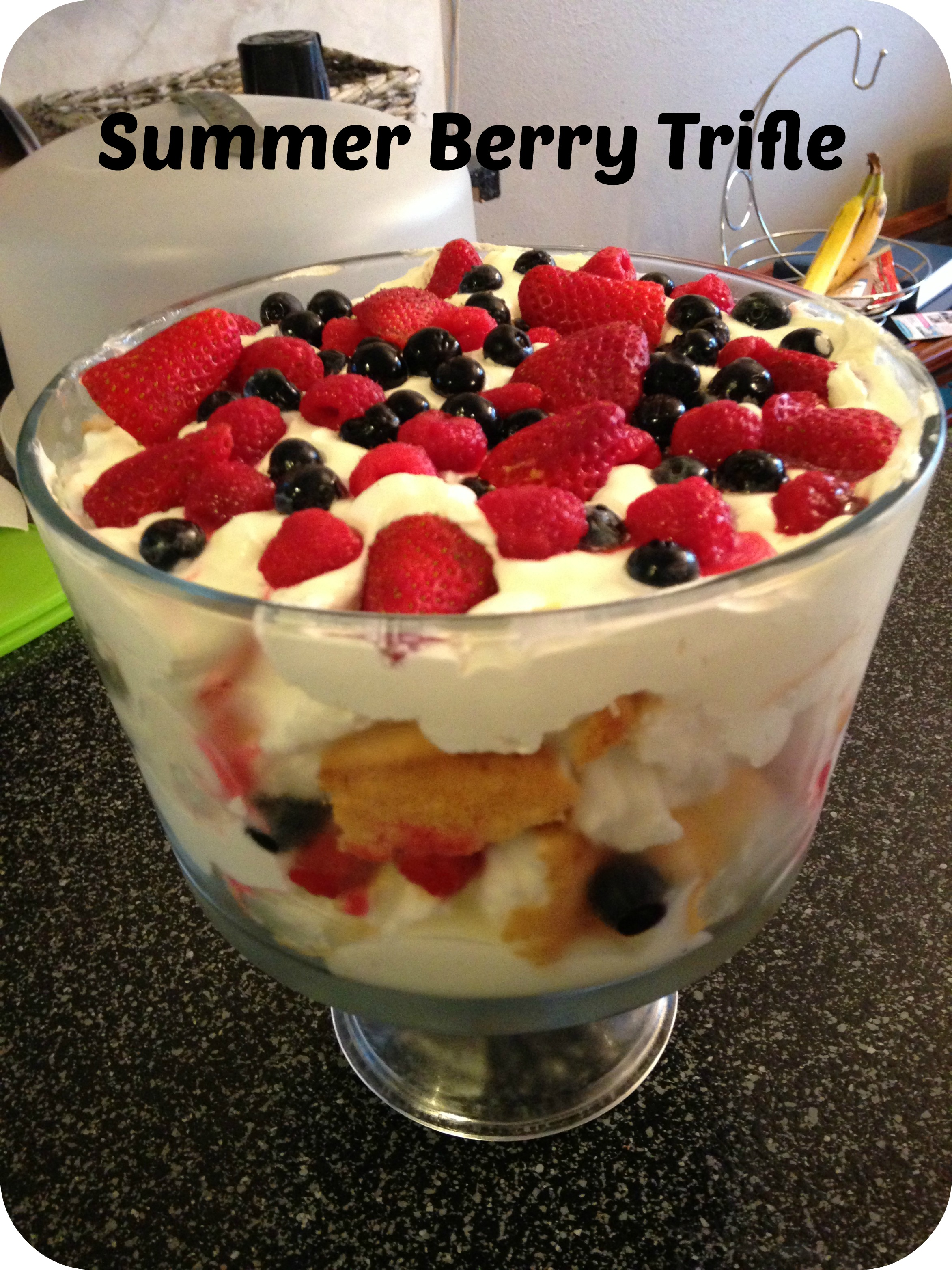 summer berry trifle} – Living In His Blessings