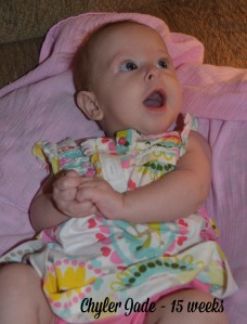 Chyler 15 weeks