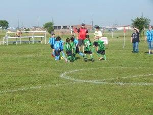 Grant's Soccer Game